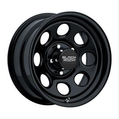 Black Steel Rock Series 997 Type 8 Matte Black Steel Wheel 17x9 8x6