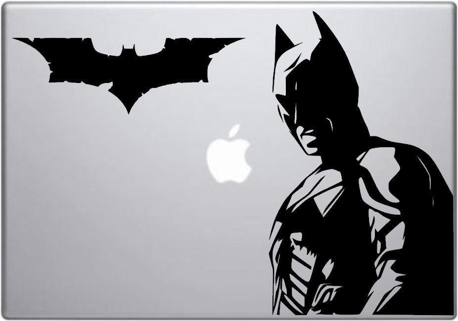 Batman decal   Dark Knight Batman MacBook / laptop vinyl car / window