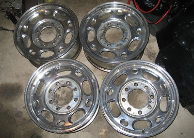 CHEVY GMC 2500 HD Wheels Rims 16 OEM Duramax Silverado Factory 07 08