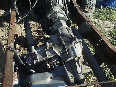 ford auto transmission and transfer case 4R70W electric shift T case