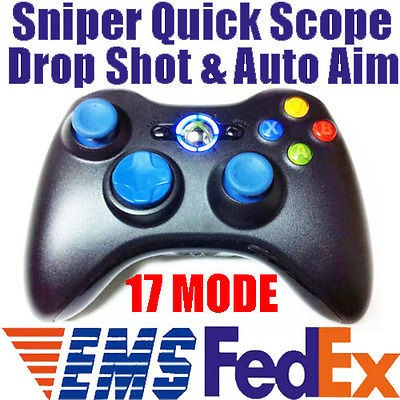 MW2 17 Mode Rapid Fire Modded Xbox 360 Controller Sniper Quick Scope