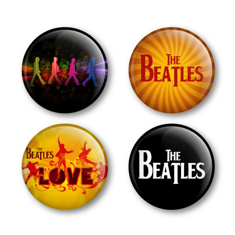The Beatles Badges Buttons Pins Albums Vinyl Tickets