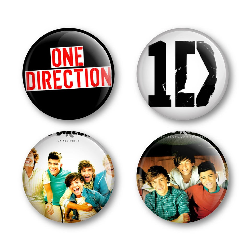 One Direction 1D Badges Buttons Pins Shirts Tickets Albums Posters