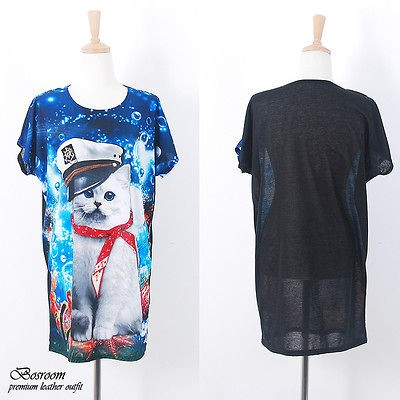 cat t shirts in Womens Clothing