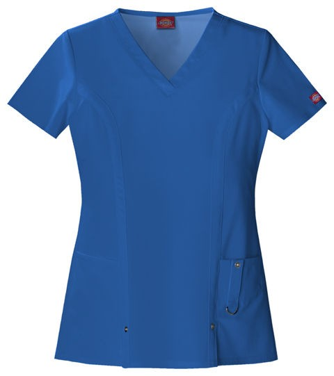 Dickies Xtreme Stretch Medical/Dental Uniform Scrubs Top Shirt PICK