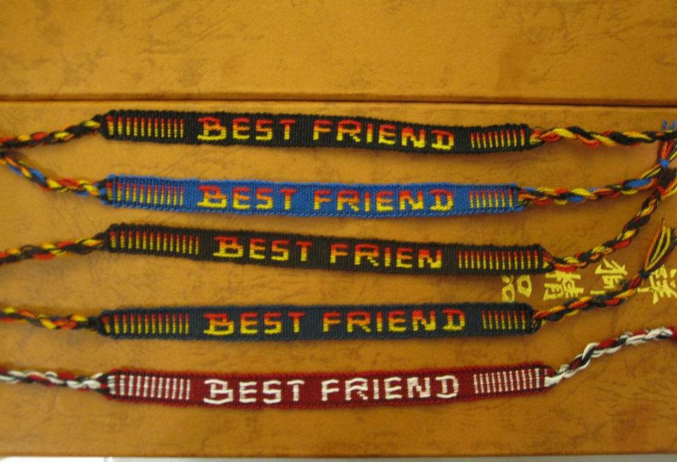BEST FRIEND, WRISTBAND FRIENDSHIP BRACELET, BUY 2 GET 1 FREE