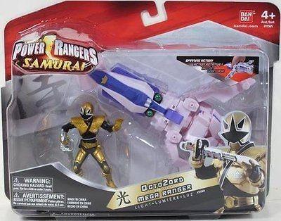 Power Rangers Samurai OctoZord Mega Ranger Light Bandai Octo Zord