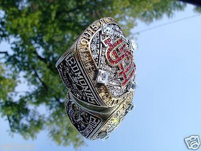2006 St Louis Cardinals World Series Championship Ring Edmonds not