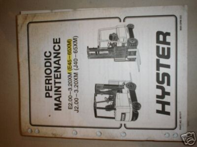 hyster forklift manual in Business & Industrial