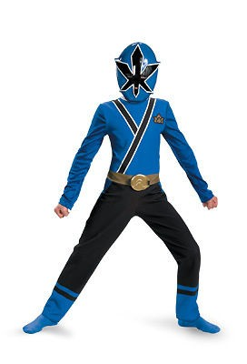 Power Rangers Samurai Gold Ranger Muscle Toddler Costume SizeM 3T 4T