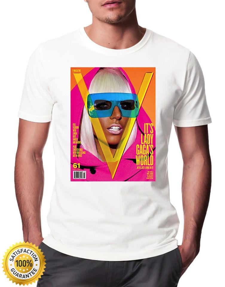Lady Gaga Pop Star T  Shirt similar to Kate Moss OFWGKTA BIG Supreme
