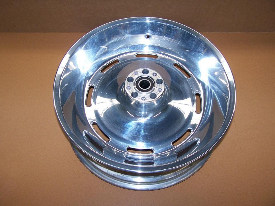 Davidson Softail Alcoa T17X6.00MT Rear Slotted Mag Rim Wheel 41124 08