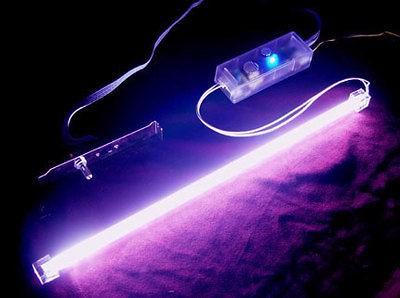 Logisys 15 UV BLACK Cold Cathode Light Sound Activated KIT MOD CASE