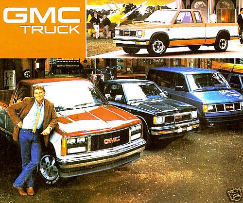 1988 GMC TRUCK BROCHURE  SIERRA & S15 PICKUP JIMMY SUBURBAN SAFARI
