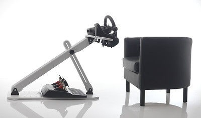EARL RS2 Steering Wheel Stand Polar White Ps3/ Logitech G25/G27
