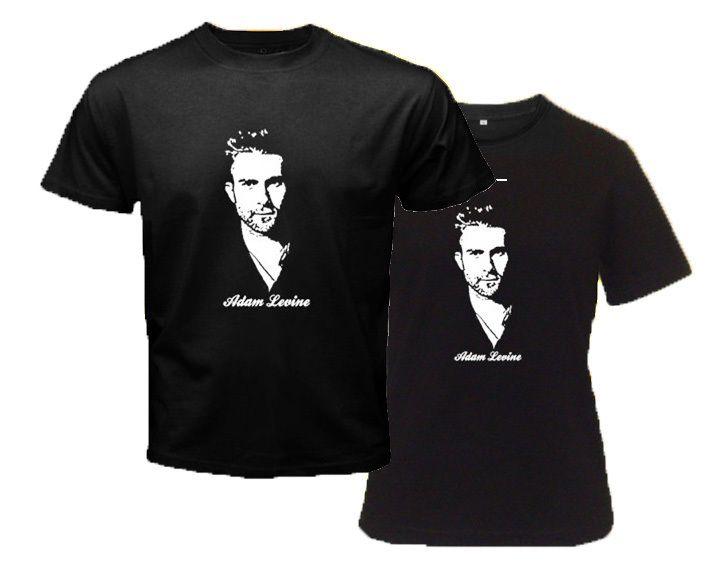 Adam Levine Pop Rock Band Maroon 5 Singer Black T Shirt s to 3XL Men