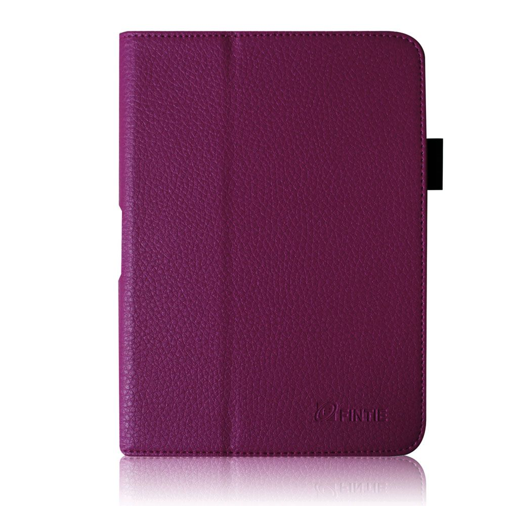 Kindle Fire HD 7 Leather Folio Case Cover Car Charger Stylus