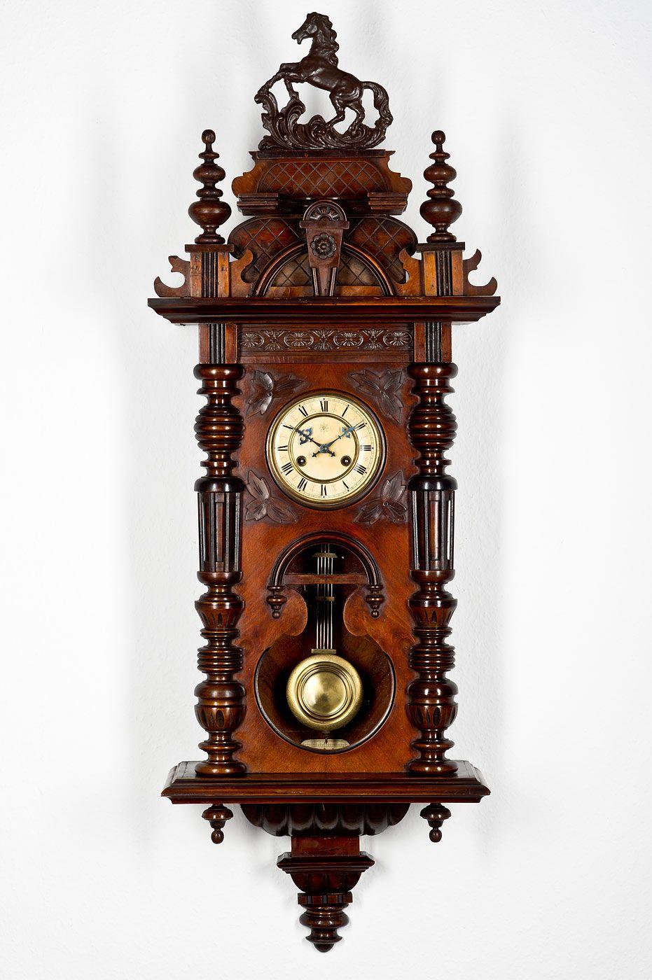 Antique Junghans Pendulum Wall Clock Approx 1890