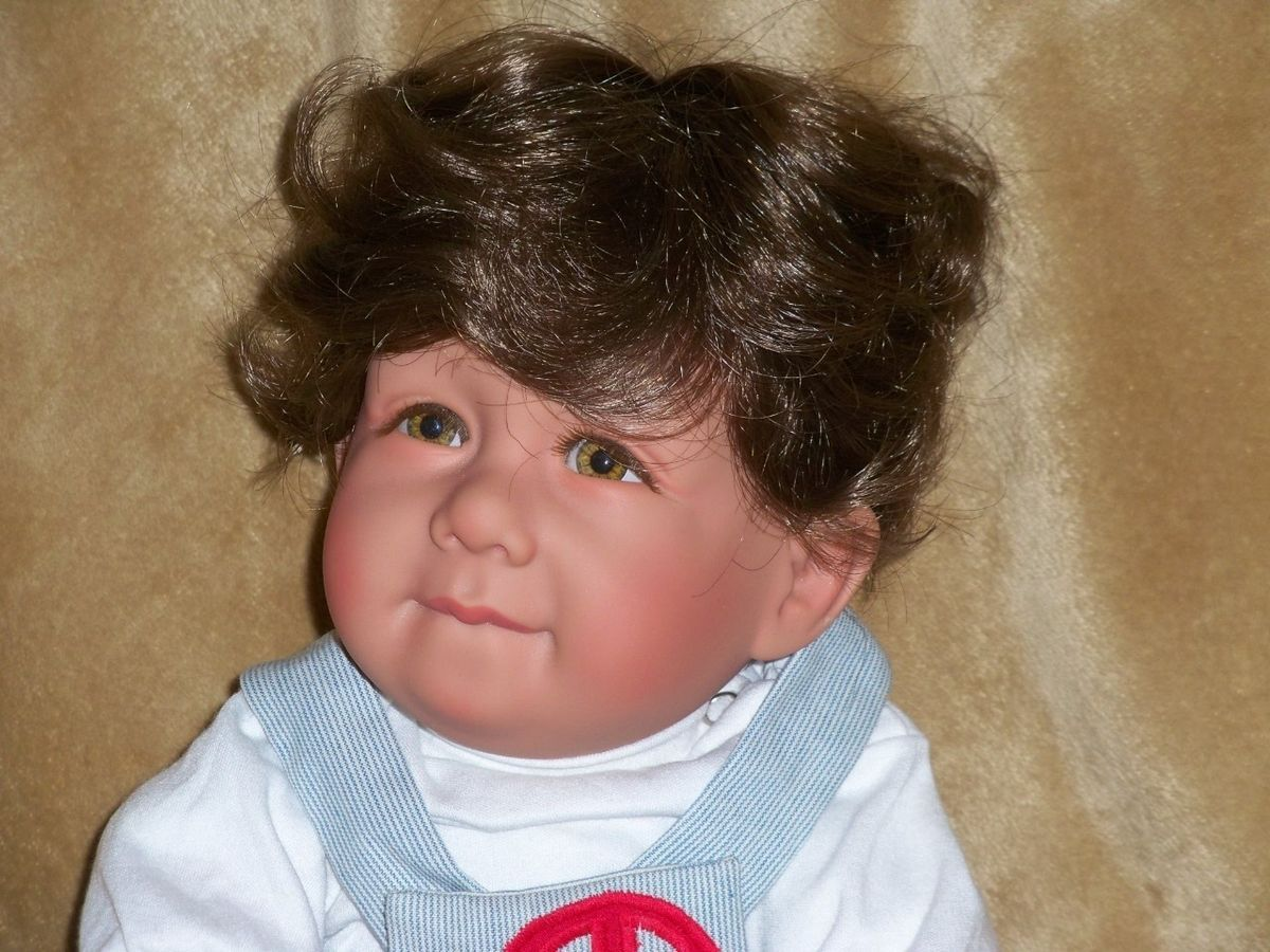 Apple Valley Baby Boy Doll Real Features OOAK Custom Pat Secrist Milo