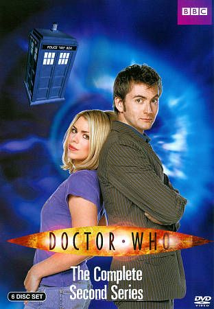 Doctor Who   The Complete Second Series DVD, 2012, 6 Disc Set