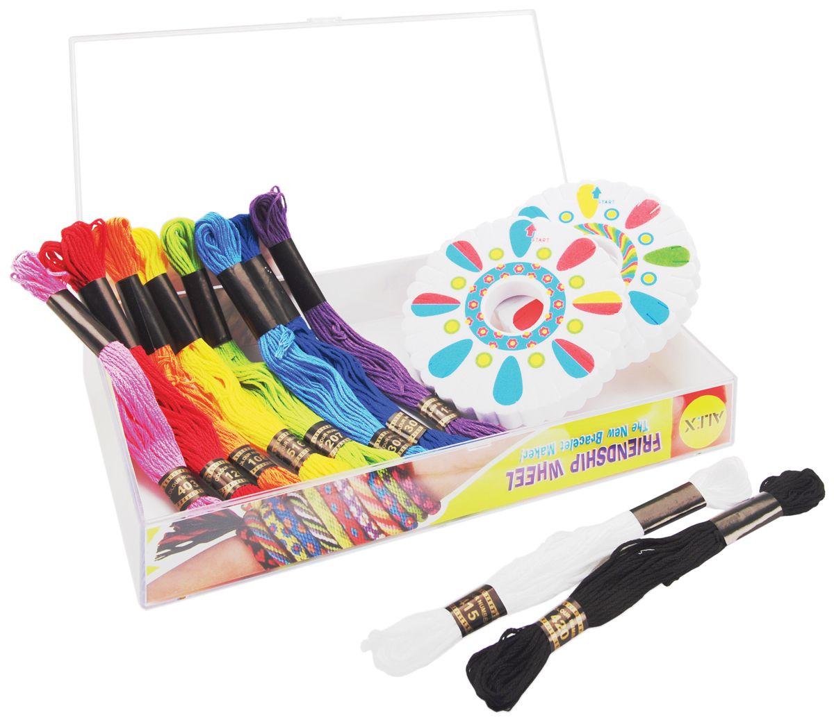 137w friendship wheel bracelet maker kit alex toys friendship wheel