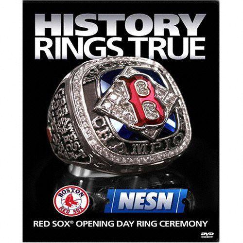 New Baseball DVD World Series 2004 Red Sox Ring Ceremon