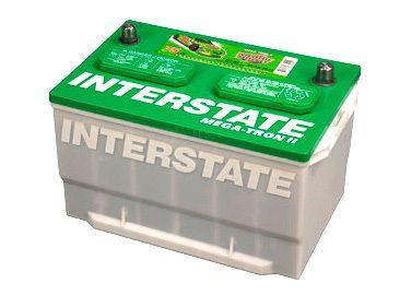 Interstate Batteries Mega Tron 2 Automotive Battery MT 65 675 CCA Car