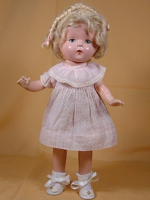 Composition Doll American Character Petite Carol Ann Beery