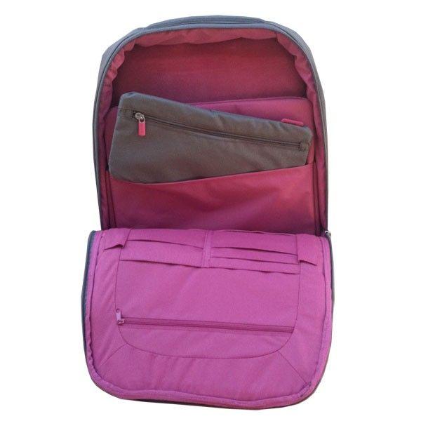 Belkin Slim Backpack for Dell 17 Laptop Gray Pink