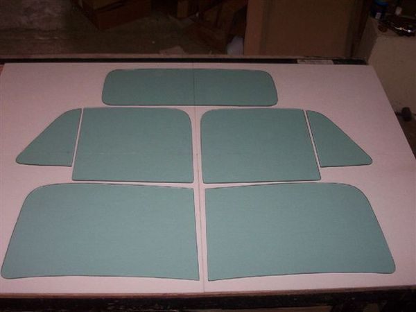 1951 53 Chevy GMC Truck Windows Vintage Glass Classic