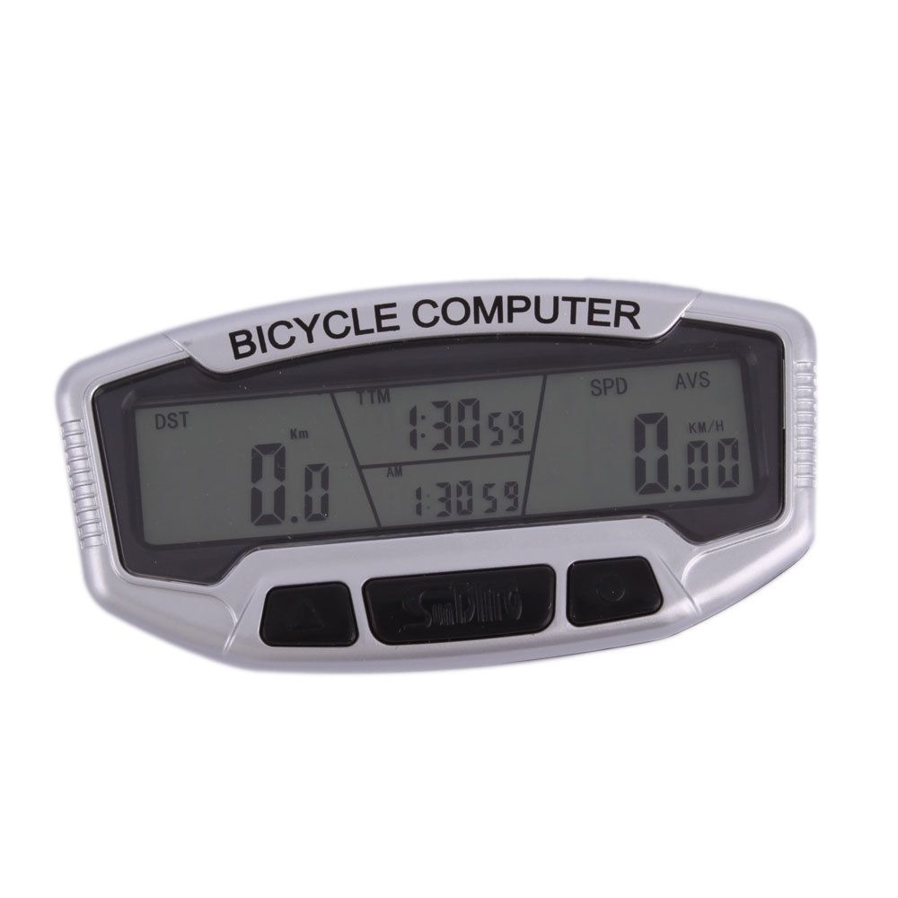 New Waterproof Bicycle Bike Cycling Computer LCD Odometer Speedometer