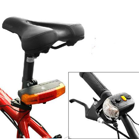 New 3 in 1 Cycling Bicycle Bike Turn Signal Brake Tail 7 LED Light