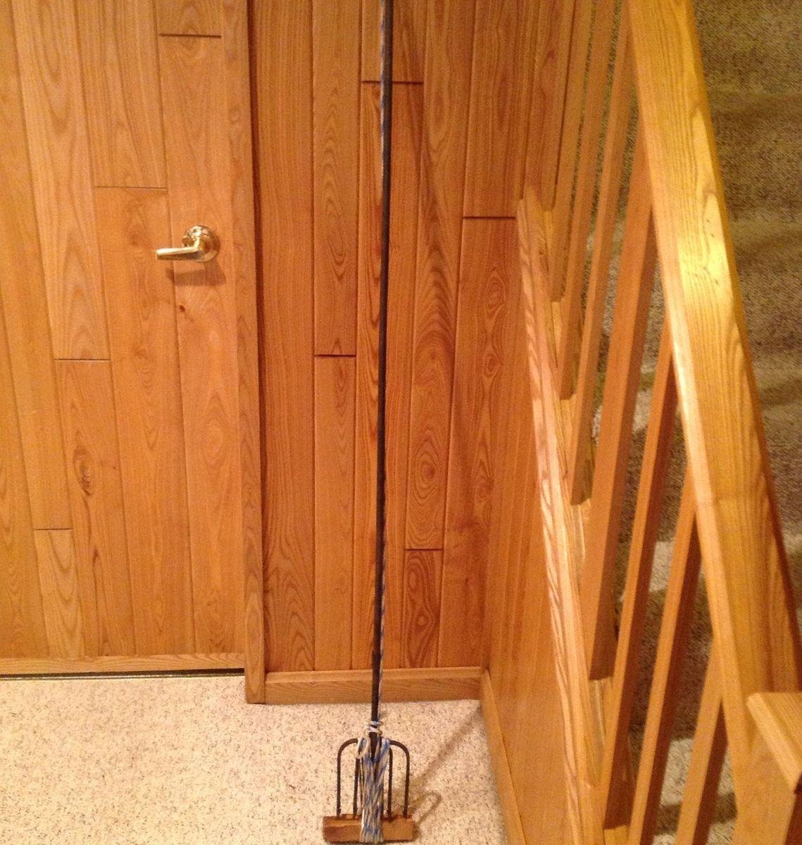 Vintage Northern Minnesota Ice Fishing Spear Dark House Steel 5 Tine