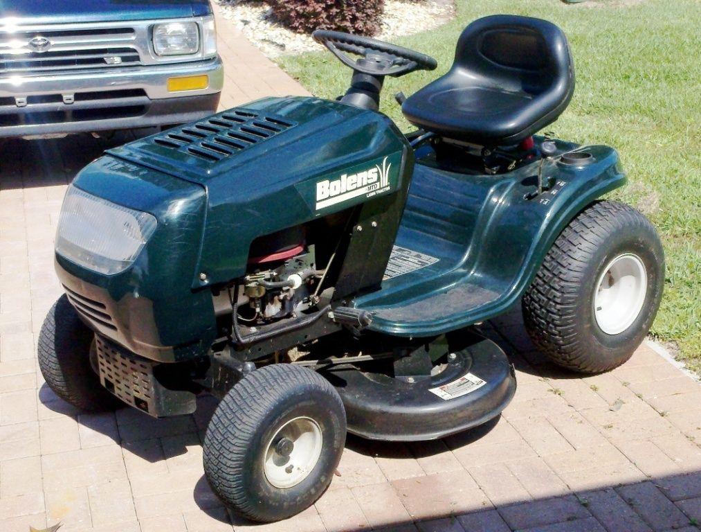 Mtd Bolens Riding Lawn Mower Tractor 38 Deck 15 5 Hp