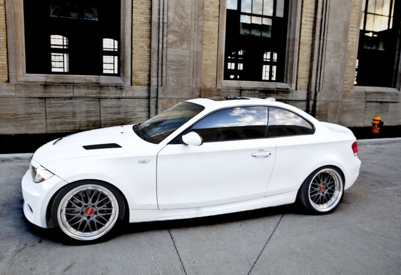 Tek LM Style 5x120 Hyper Black Wheel Fit BMW 1 Series 128 135