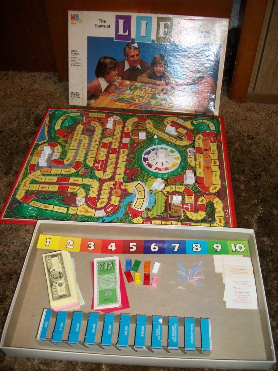 Vintage 1979 The Game of Life Board Game Complete Excellent