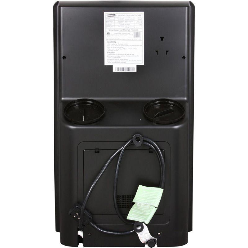 Air Conditioner Heat Pump 13K BTU Dual Hose Compact A C Heater
