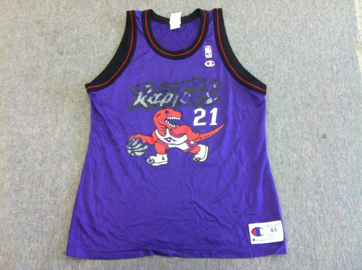 Vintage Marcus Camby Toronto Raptors Champion NBA Jersey Mens 44 L