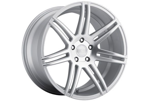 20 Ford Mustang GT Concept One CSM7 Concave Silver Staggered Wheels
