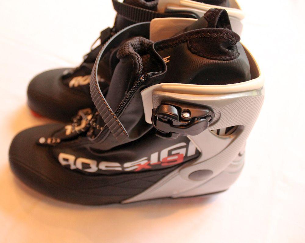 ROSSIGNOL X9 SKATE BLACK CROSS COUNTRY SKI BOOTS NIB NWT US 10 5 EUR