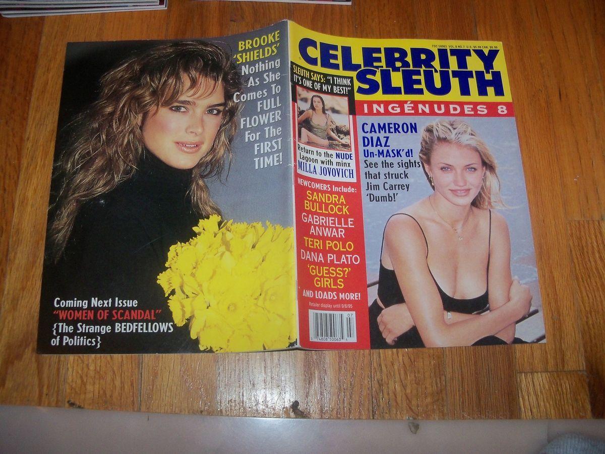 Diaz Magazine Milla Jovovich Dana Plato Teri Polo Brooke Shields 1995