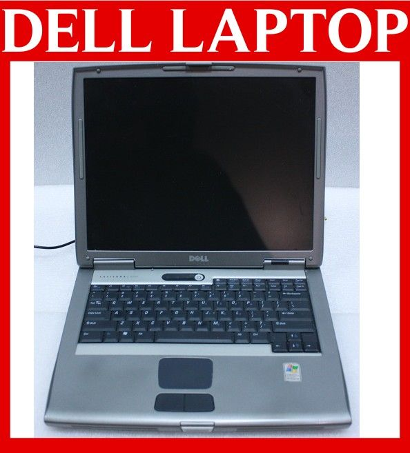 Dell Latitude D505 Laptop Notebook Pentium M 1 6 60GB 1GB Combo XP Pro