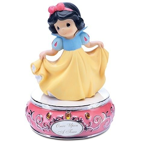 Precious Moments Disney Princess Snow White Figurine Musical Gift