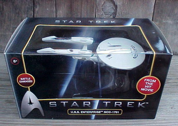 Wheels 2008 Star Trek USS Enterprise NCC 1701 Battle Damaged Toy 1 50