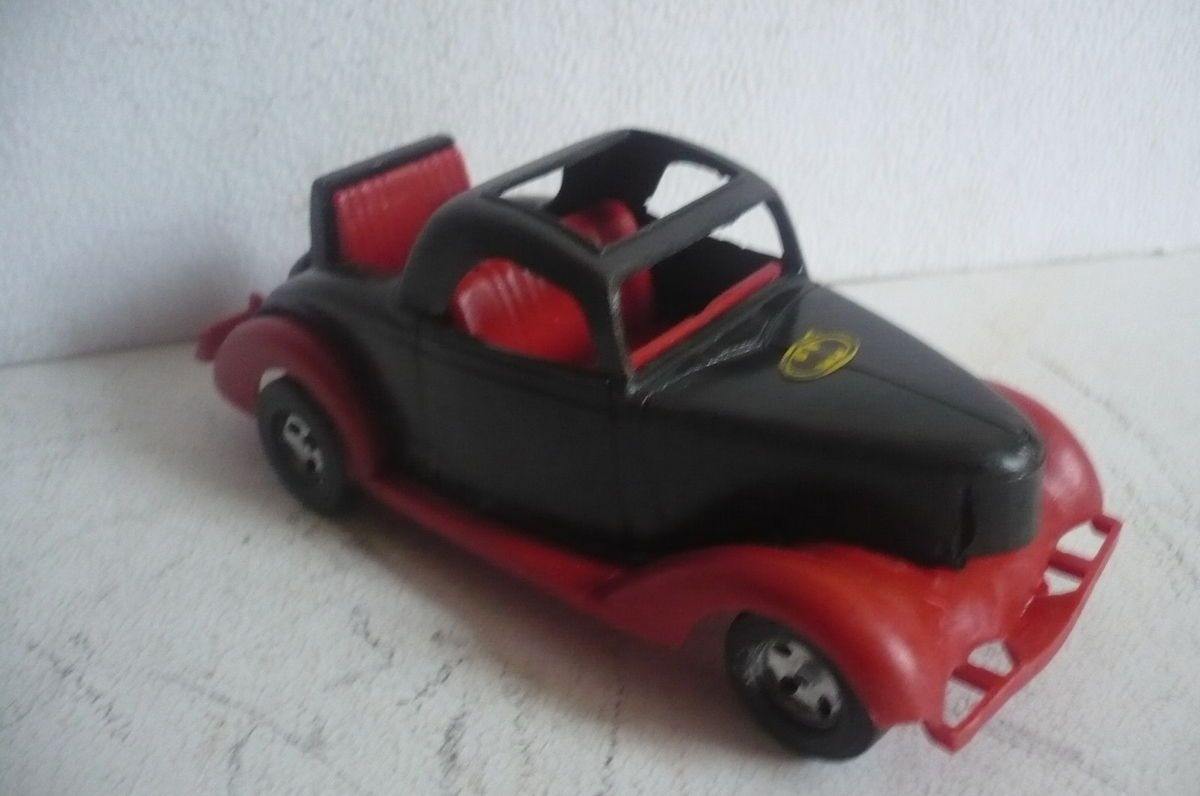 Mexican Ford Hot Rod Batmobile Batman Plastic toy Car Truck Made In