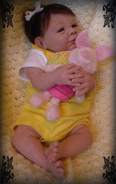 OOAK Reborn Baby Girl Art doll Emily Rose Denise Pratt sculpt Paisley