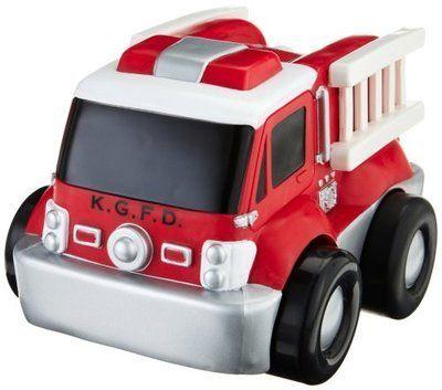 Kid Galaxy My 1st RC GoGo Fire Truck/ Steering wheel 2 button remote