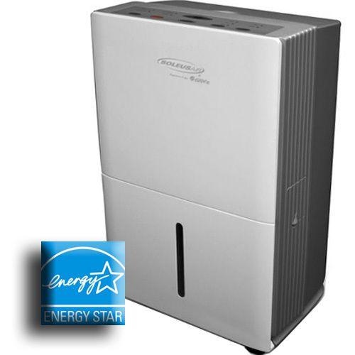 30 Pint Portable Air Dehumidifier Energy Star Mini Compact
