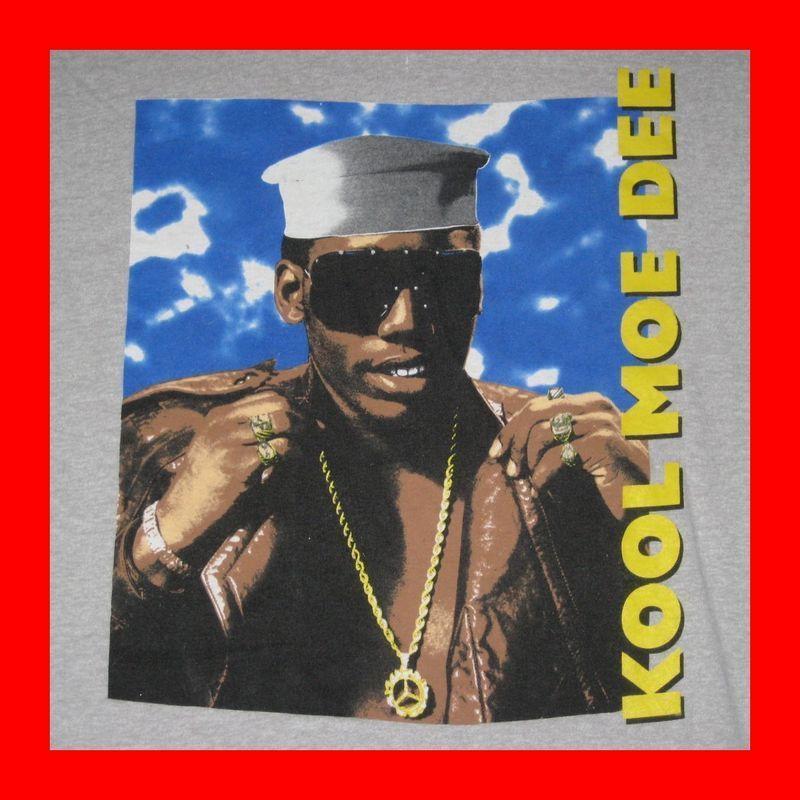 OG Kool Moe Dee Vtg 80s T Shirt Hip Hop Eric B Rakim