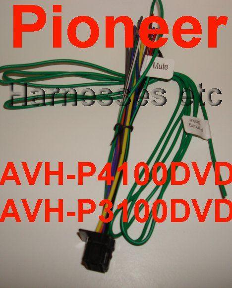 159232770_pioneer dvd wire harness avh p4100dvd avh p3100dvd new pioneer dvd wire harness avh p4100dvd avh p3100dvd new pioneer avh p3100dvd wiring harness at bayanpartner.co